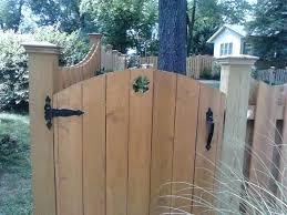 Wood Fence Gate Designs Cedar Fence Ideas Cedar Fence Designs Ideas