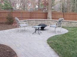 Backyard Paver Designs Magnificent How Much Does It Cost To Install A Patio Angie's List
