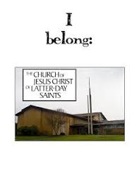 I Belong To The Church Of Jesus Christ Flip Chart Primary Singing Ideas April Flipchart I Belong To The