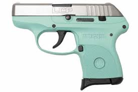 ruger lcp 380 auto turquoise carry conceal pistol talo exclusive