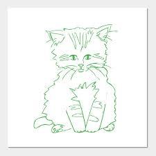 Kitten Color Chart Green Kitten