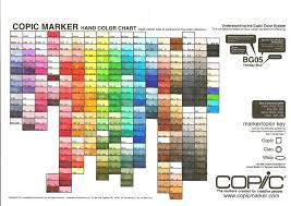 copic ciao color chart current copic marker chart by mzzazn on deviantart