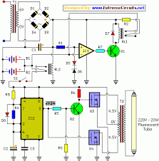 ic controlled emergency light charger circuit eeweb community ic controlled emergency light charger circuit diagram