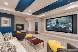 Design Basement Custom Decoration