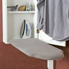 Harper Blvd Wall-mounted Ironing Board and Storage Center - Free Shipping  Today - Overstock.com - 12580654