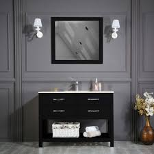 edison 48 black bathroom cabinet
