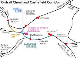 Manchester United by Ordsall Chord – Rail Engineer