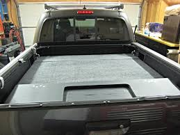 house cool truck bed storage for camping 19 dimensions sleeping set up tacoma world with platform