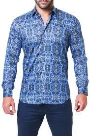 Maceoo Size Chart Fibonacci Trim Fit Shirt