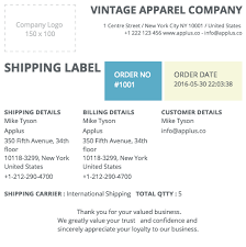 shipping info template shipping label template free aiag shipping labels aiag label