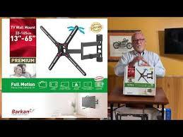 meet barkan full motion tv wall mount