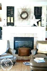 brick fireplace decor brick fireplace mantel decor s red brick fireplace mantel decorating brick fireplace mantel decor