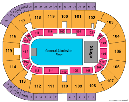 33 Thorough Ricoh Coliseum Detailed Seating Chart