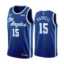 This is what fans want!! 2020 21 Los Angeles Lakers Montrezl Harrell Blue Classic Edition 2020 Trade Jersey 15