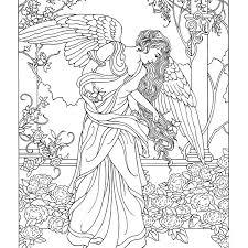 Anime Fallen Angel Coloring Wwwpicturesbosscom