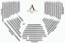 Apollo Theatre Seating Chart Theatre In Chicago