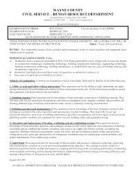 Custodian Resume Example Custodian Resume Objective Sample Camelotarticles 16