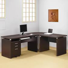 l shaped computer desk with hutch entrancing home security plans free in l shaped computer desk