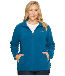 columbia plus size fuller ridge fleece jacket phoenix blue women s coat