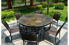 slate table round top slate outdoor stone patio dining table slate blue table lamps