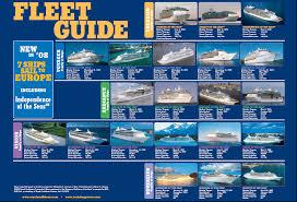 Royal Caribbean Cruise Ship Size Chart Royal Caribbean Fleet Guide For 2008 09 Season Royal