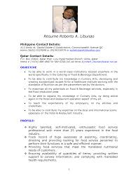 resume fresh resume sample chef attractive pastry chef resume samples resumeresume sample chef full size sample resume for chef