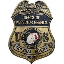 Badge Office Office Of Inspector General Badge Plaque