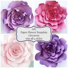 Flower Templates For Paper Flowers Flower Templates For Paper Flowers Magdalene Project Org