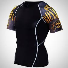 Designer Rash Guard Short Sleeve Designer Rash Guard