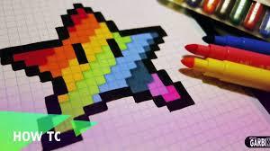 A small texture pack has been added! Diamant Dessiner Fait Main Comment Arc En Ciel A Il Pixel Art Pixelart Video Dailymotion