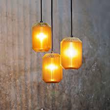 Pendant Lamp Contemporary Aluminum Glass Joseph Eoq