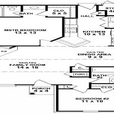Simple 2 Bedroom House Floor Plans Small Two Bedroom House Plans, Simple  House Plan Mexzhousecom
