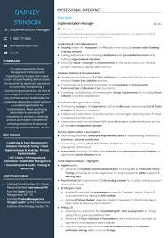 mis manager resume senior implementation manager resume sample by hiration