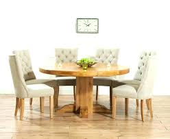 oak dining furniture round oak tables and chairs astonishing oak dining table and fabric chairs