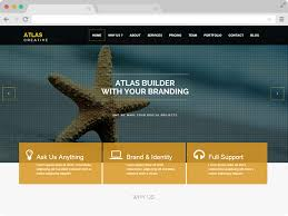 Free Html5 Website Templates Simple Atlas Parallax HTML48 Business Free Responsive Bootstrap Template