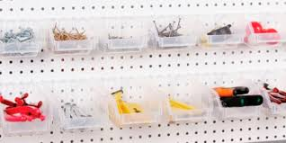 Pegboard storage bins Slatwall Slatbox Display Bins Palay Display Slatbox Pegboard Display Bins Pegboard Hardware Palay Display