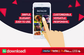 Videohive Parallax Mobile App Video Presentation After Effects