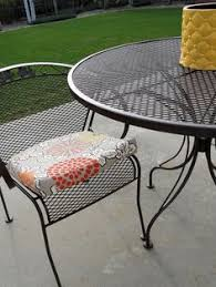 metal patio chairs. How To Refinish My Wrought Iron FurnitureDo This Before The Move, Metal Patio Chairs