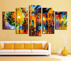 wall art hot sell 5 piece wall art sets bright color abstract painting in painting calligraphy from home garden on aliexpress alibaba group on colorful abstract canvas wall art with wall art hot sell 5 piece wall art sets bright color abstract