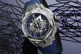 Hublot big bang ferrari unico carbon men's watch 402.qu.0113.wr $ 20,405 Hublot Big Bang Sang Bleu Ii Introducing Specs Price