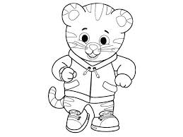 Tiger Coloring Page Avusturyavizesiinfo