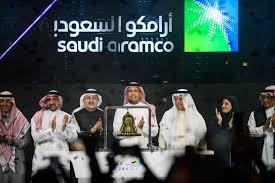 المعلومات المالية حول سهم أرامكو السعودية، بما في ذلك سعر سهم 2222، الإغلاق السابق، الحجم، التغيير لمدة عام، النطاق اليومي، نطاق 52 أسبوعًا، القيمة السوقية، الإيرادات، توزيع الأرباح وأكثر من ذلك. Saudi Aramco News First Big Test After Massive Ipo Bloomberg