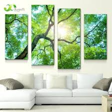 wall decals nature wall art designs nature wall art four panel large modern printed wall art wall decals
