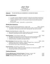 Cleaning Job Description Resume Cleaner Job Description Template Jd Templates House Resume Cleaning 9