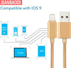 online buy whole i phone 6 charger cords apple from i new 3pcs lot usb cable for iphone 5s power cord i6 phone charger nylon line