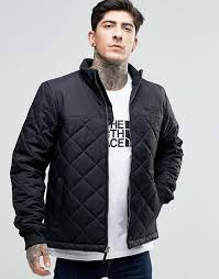 The North Face | The North Face Quilted Bomber Jacket In Black &  Adamdwight.com