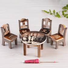 where to buy miniature furniture. 6pcsset table u0026chair artificial resin miniature crafts house fairy garden decoration micro landscape for where to buy furniture e