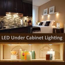 counter lighting kitchen. 24 Under Cabinet Light Counter Strip Lighting Touch Kitchen Lights