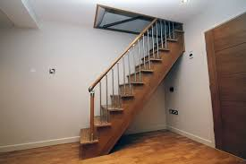 stylish basement stairs design stair ideas pertaining to staircase plan 4