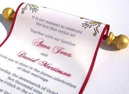 Scroll Wedding Invite Choosing Scroll Wedding Invitations Are Completely Different